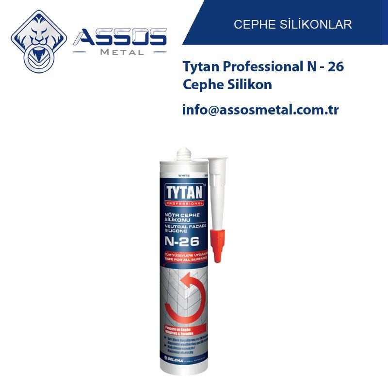 Tytan Professional N - 26 Cephe Silikon