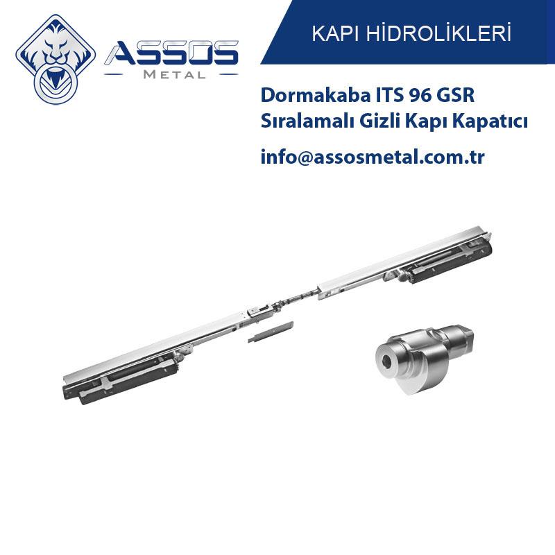 Dormakaba ITS 96 GSR Sıralamalı Gizli Kapı Kapatıcı
