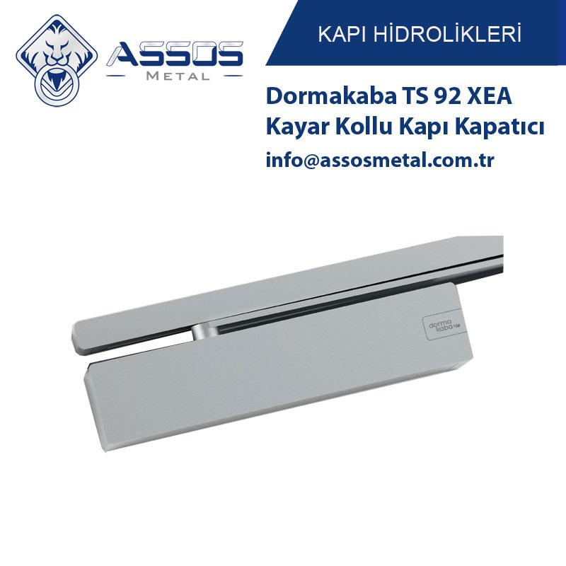 Dormakaba TS 92 XEA Kayar Kollu Kapı Kapatıcı