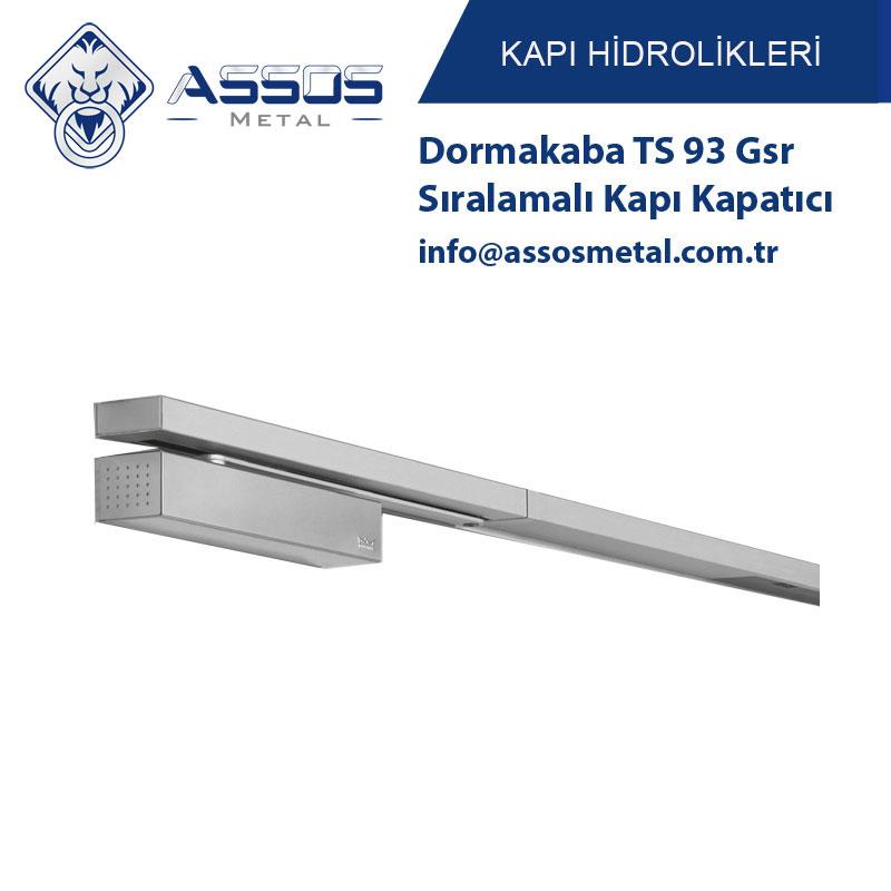Dormakaba TS 93 Gsr Sıralamalı Kapı Kapatıcı