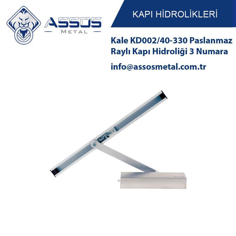 Kale KD002/40-330 Paslanmaz Raylı Kapı Hidroliği 3 Numara
