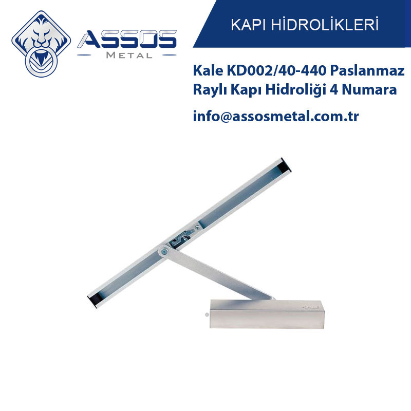 Kale KD002/40-440 Paslanmaz Raylı Kapı Hidroliği 4 Numara