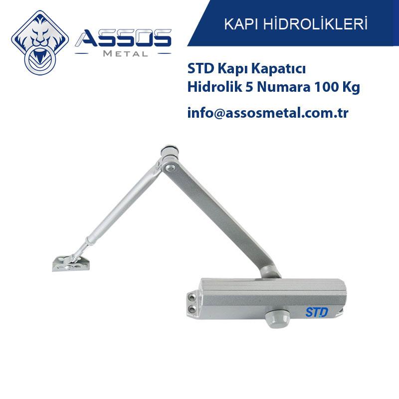 STD Kapı Kapatıcı Hidrolik 5 Numara 100 Kg