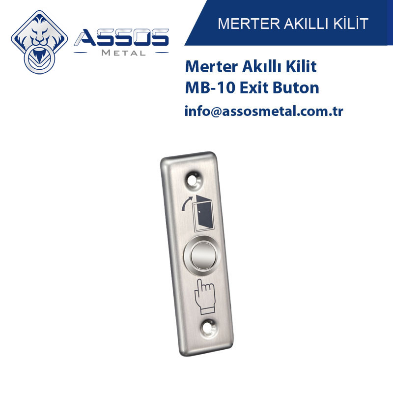 Merter Akıllı Kilit MB-10 Exit Buton