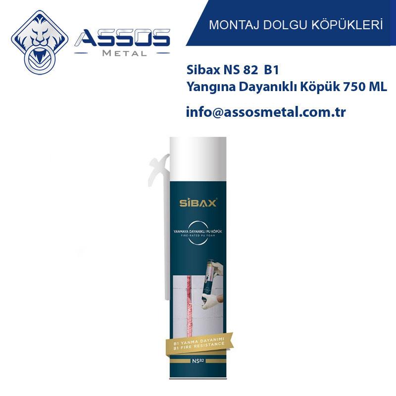 Sibax NS 82 B1 Yangına Dayanıklı Köpük 750 ML