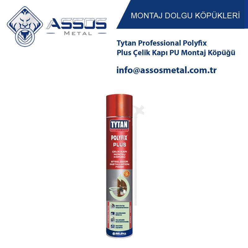 Tytan Professional Polyfix Plus Çelik Kapı PU Montaj Köpüğü