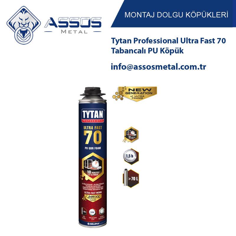 Tytan Professional Ultra Fast 70 Tabancalı PU Köpük