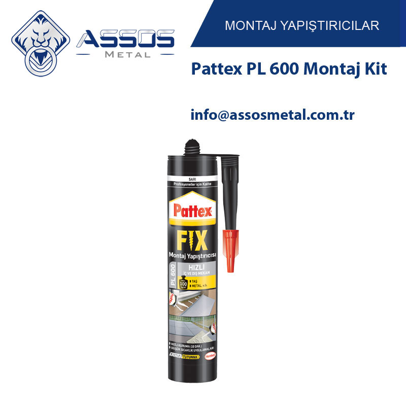 Pattex PL 600 Montaj Kit