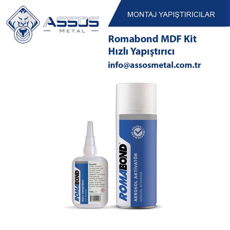 Romabond MDF Kit Hızlı Yapıştırıcı