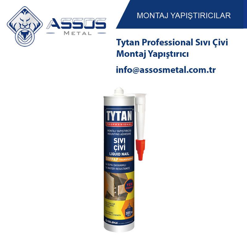 Tytan Professional Sıvı Çivi Montaj Yapıştırıcı