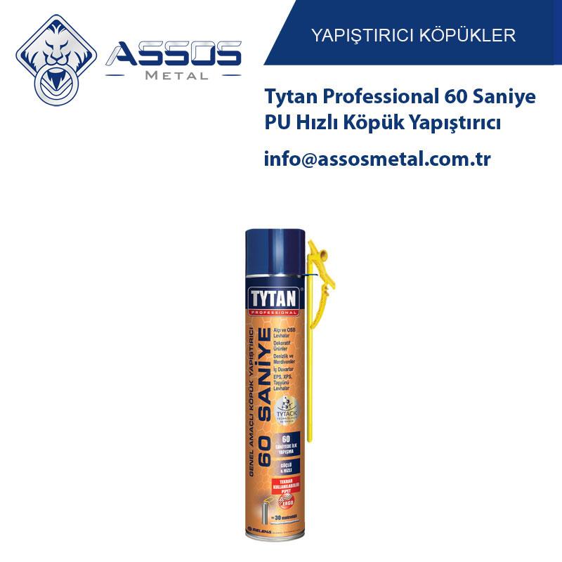 Tytan Professional 60 Saniye PU Hızlı Köpük Yapıştırıcı