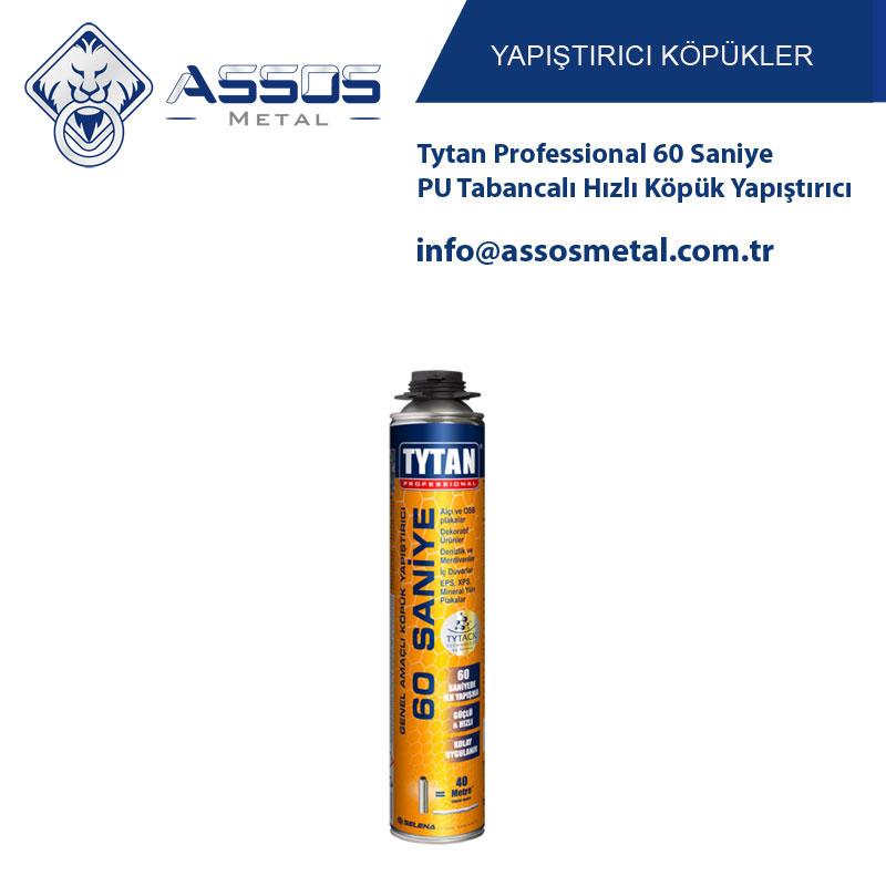 Tytan Professional 60 Saniye PU Tabancalı Hızlı Köpük Yapıştırıcı
