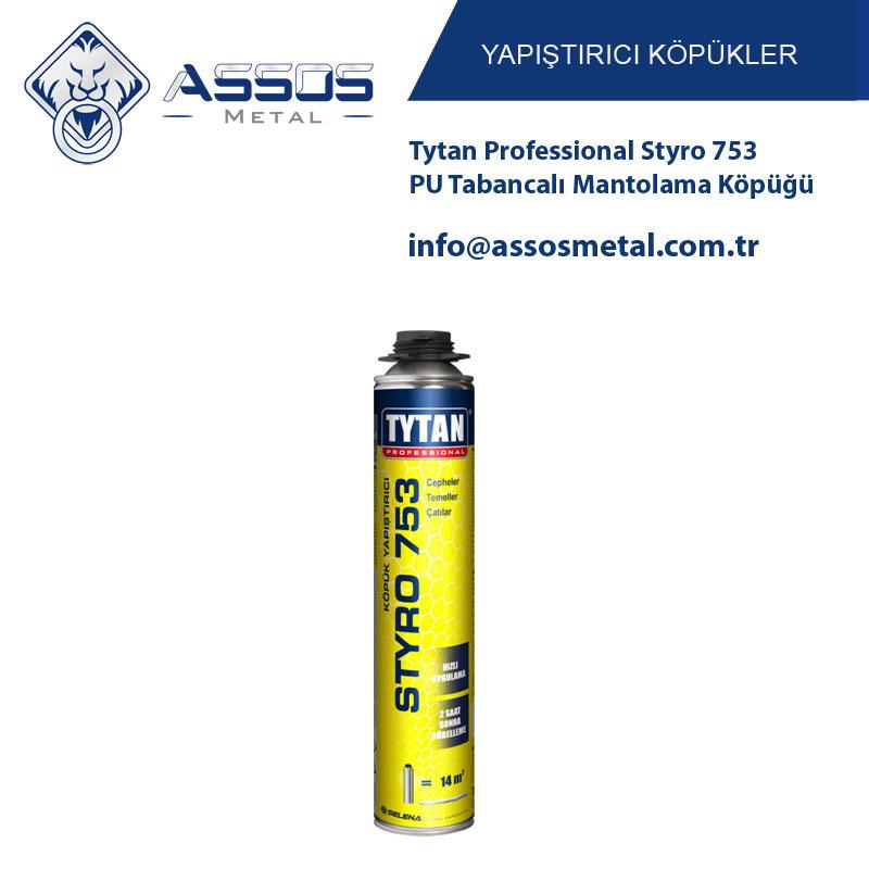 Tytan Professional Styro 753 Pu Tabancalı Mantolama Köpüğü